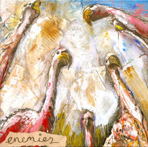 ENEMIES - Bits Of Parrots c/w Feed Me Seedless