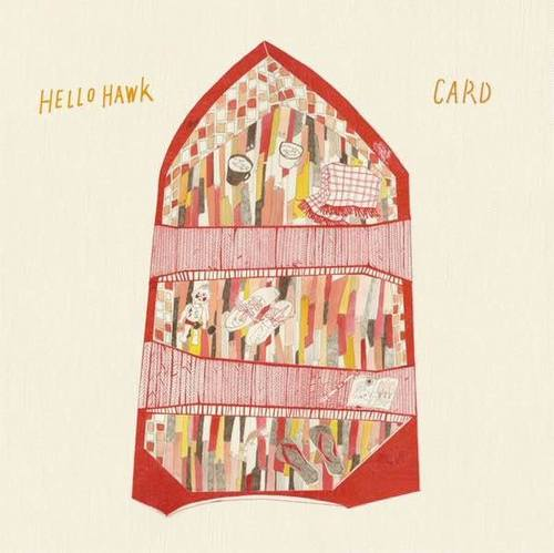 CARD / HELLO HAWK - split