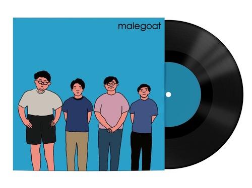 MALEGOAT - Blue EP